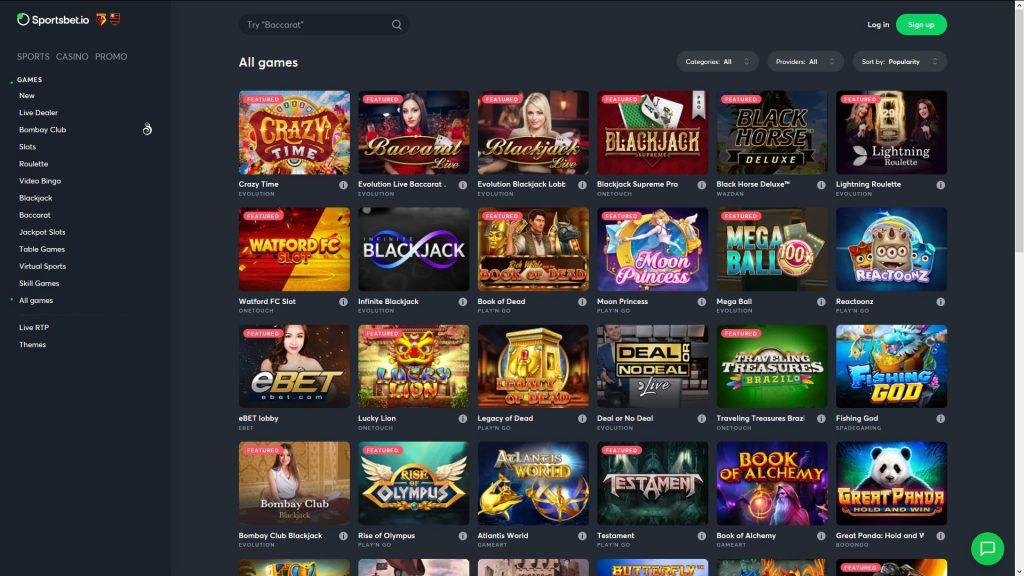 sportsbet casino en ligne