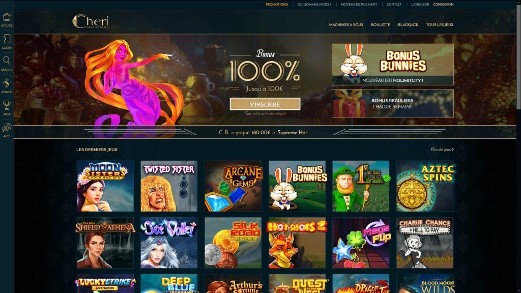 jeux cheri casino