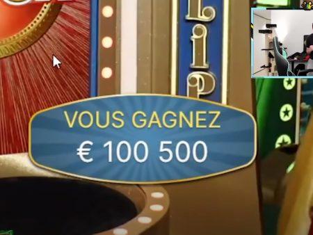 Bidule gagne 200 000€ sur le nouveau jeu en direct Crazy Time