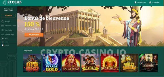 Comment s'inscrire sur Cresus Casino – Étape par Étape & Activer son Bonus