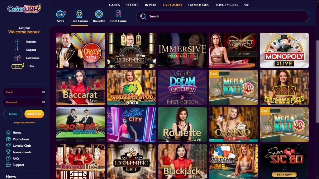 jeux casino360