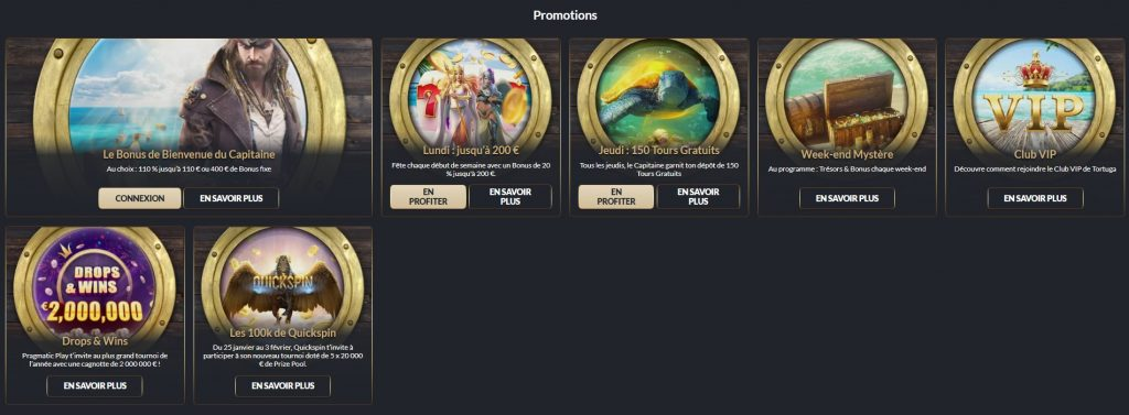 Tortuga Casino Promo